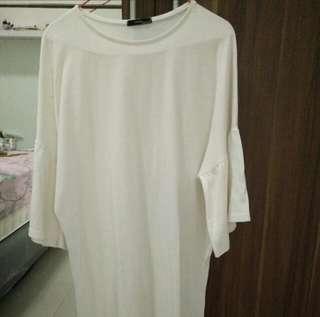 Blouse Putih Korea Free Size
