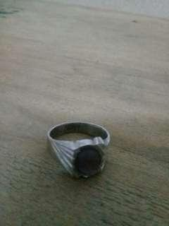 Men's Ring Purple Jade