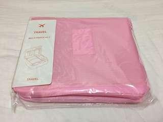 旅行收納袋 Pink travel bag