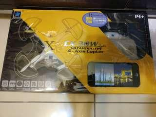 4 axis copter aircraft drone - remote need repair - 2 sets total hkd 30