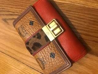 MCM wallet card holder