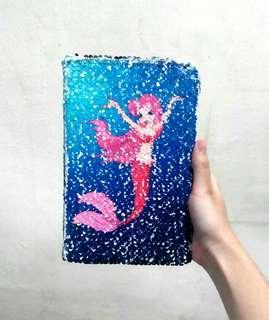 Mermaid Sequins Notebook