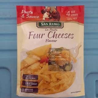 New Pasta San Remo Four Cheese Promo Yummy