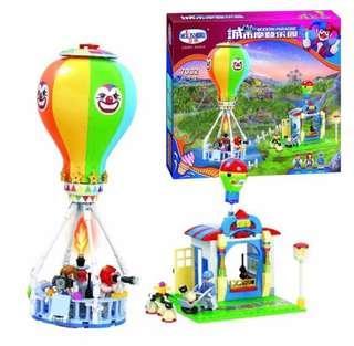 積木 玩具 遊樂場系列 兒童