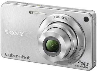 Sony Cyber-shot DSC-W350 Digital Camera (Silver)