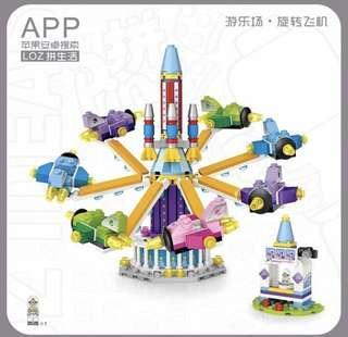 積木 女孩玩具 遊樂場系列