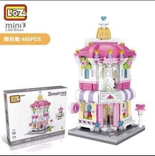 積木 女孩玩具 粉紅色系列