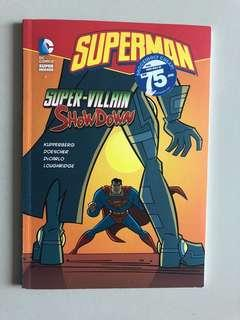 Superman DC Comics Super Villain Show Down Book