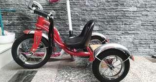 """🚚 二手 SCHWINN 12"""" Roadster Trike, 12吋兒童三輪車"""