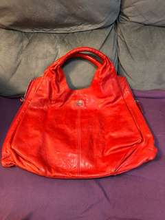 c3627d2259a8 Givenchy Red Distressed Leather Tote Bag
