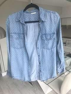 Club Monaco Button Down (Size S)