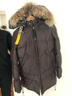 Brown Authentic long bear xs Parajumper parka **MUST SELL**