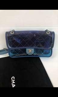 Chanel medium pvc blue #20