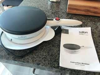 Salton Crepe & Tortilla Maker New