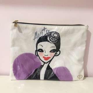 (包郵)Clé de peau cdp cpb Limited addition make up bag 限量版化妝袋旅行包