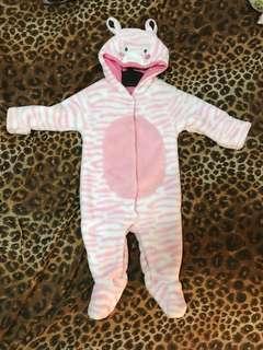 Mothercare Fleece suit