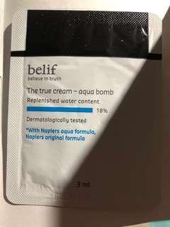 Belif the true cream aqua bomb 3ml