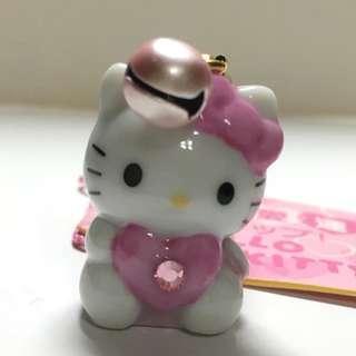 Sanrio Hello Kitty 2004年 鎖鑰扣 戀愛運 掛飾