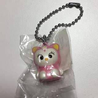 Sanrio 貓 鎖鑰扣 掛飾 1999年