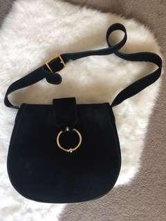 Kookai suede handbag