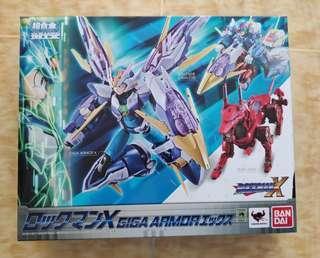 Chogokin Mega Man X Giga Armor X RM350 (BIB, Condition Like new)