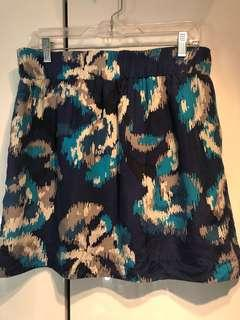 Ann Taylor Loft Silk Skirt - Size Medium