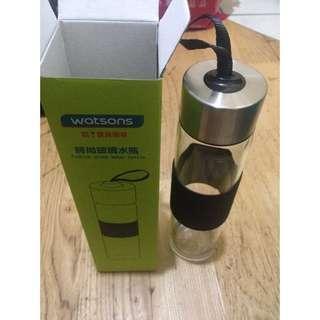 [出售]二手 玻璃水瓶 運動水瓶 環保愛地球 出清價$50