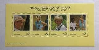 1998 Namibia Princess Diana MNH