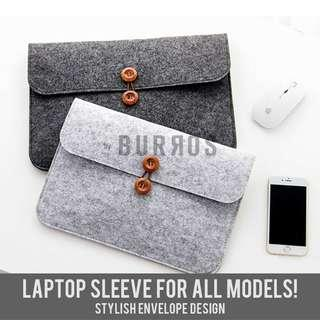 📣INSTOCKS📣Caleb Button Laptop iPad Tablet Sleeve Protector