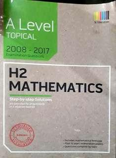 H2 ALEVEL MATHS TYS(topical)