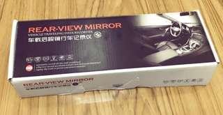 汽車後視鏡行車紀錄器