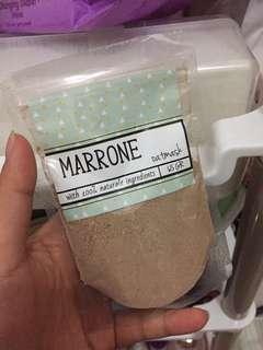 Marrone oatmask