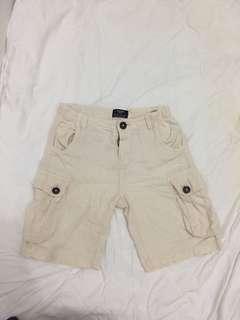 H&M cotton shorts beige