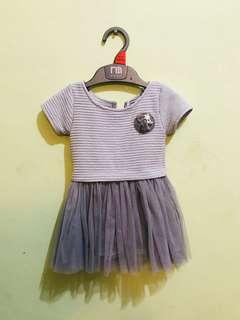 Grey Dress 1yr old below