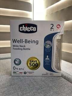 Chicco Well-Being Wide Neck Feeding Bottle