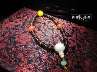 【椰殼】藏傳精品直切老椰殼念珠