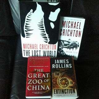 Books On Dinosaurs & Dragons