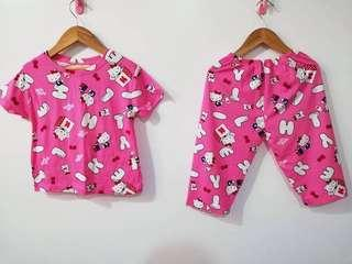 Mom & daughter terno pajama