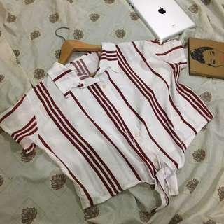 PAMIGAY SALE!! COLLARED POLO STRIPES