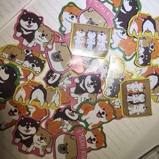 Cute Dog Stickers!