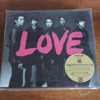 Arashi LOVE album