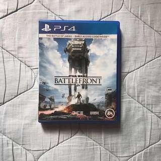 PS4 GAME FOR SALE: Star Wars Battlefront