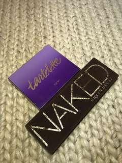 Tarte and Urban Decay Palette