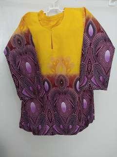 Baju Kurung Budak size 6y dan 8y