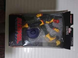 Deadpool in Xmen Uniform