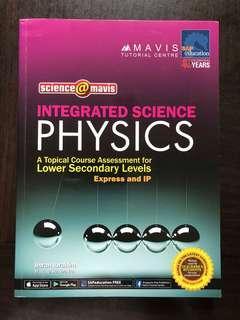 Secondary 2 Lower Secondary Physics & Power Vocabulary Assessment Books