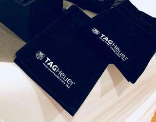 Tag heuer velvet pouch (draw string)