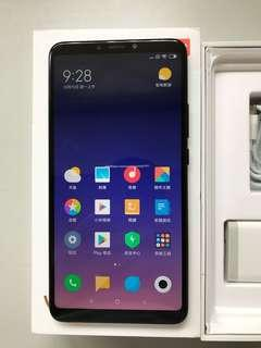 99%New Xiaomi Max 3 4GB 64GB Dual Black