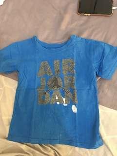 Jordan tshirt blue