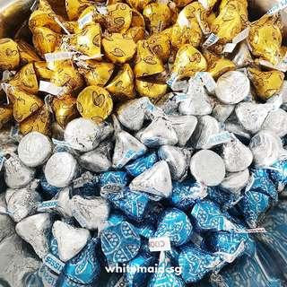 Hershey Kisses in Pyramid Boxes